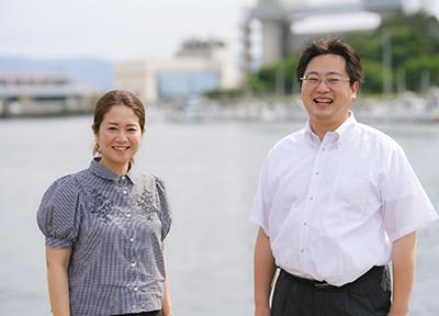 青山氏とJCI沼津の第67代理事長を務める鈴木宏和氏